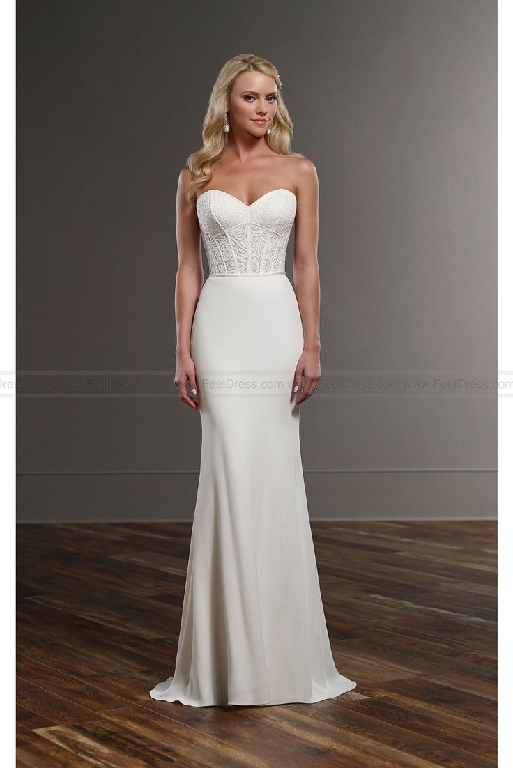 Modern Wedding Dress Separates : Gowns wedding separate forward martina liana modern gown
