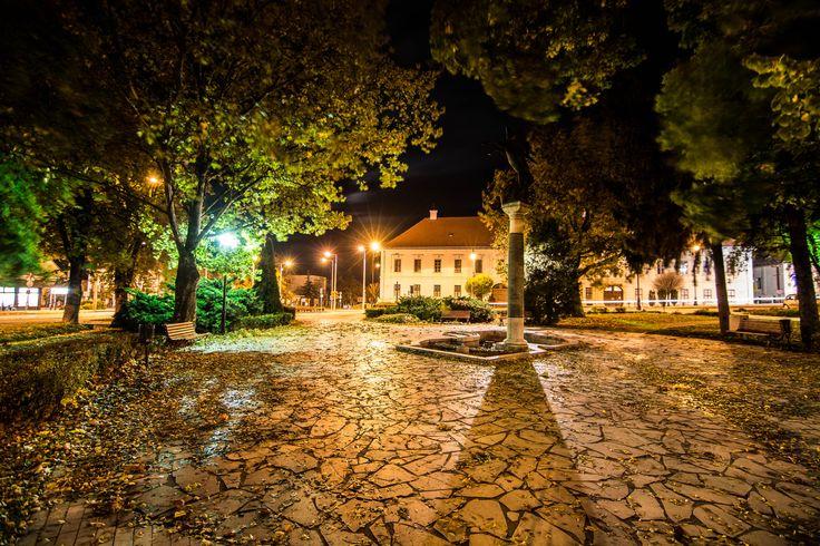 Skobrák András Őszi este a parkban (Szent István Park, Mór) Több kép Andrástól: https://www.flickr.com/photos/106287128@N03/