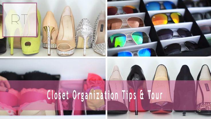 ♥ Closet Organization Tips & Tour   Rachel Talbott ♥