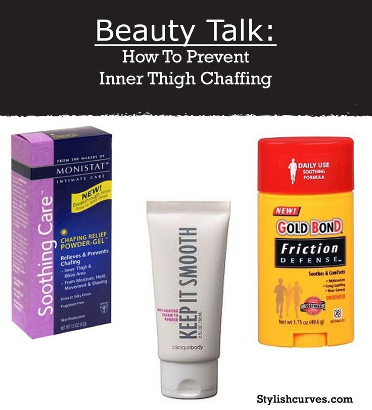 BEAUTY TALK: CHUB RUB CREAMS TO HELP PREVENT INNER THIGH CHAFFING