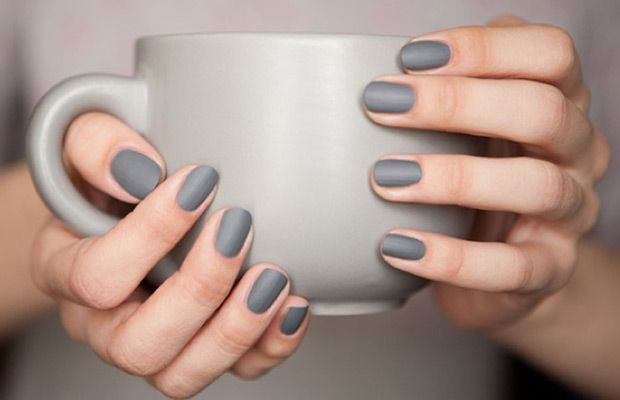 On the nails or on the wall, this color is solid.