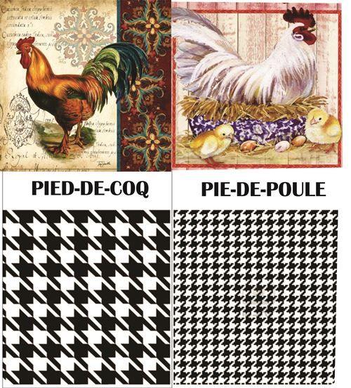 """Você já ouviu falar em pied de poule? O nome dessa estampa veio do desenho do seu grafismo, que lembra pegadas de galinha. Ao traduzirmos do francês para o português pied de poule significa literalmente """"pé de galinha""""."""