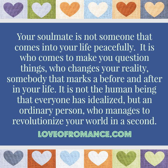 Soulmate Changes Everything Quote: