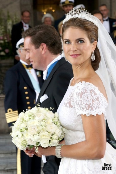 Свадьба принцессы Швеции Мадлен