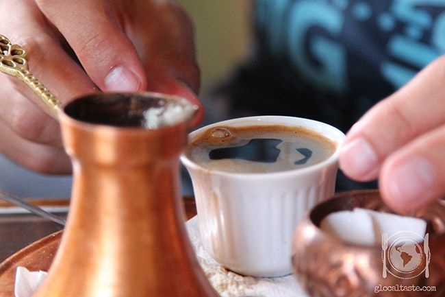 Turkish coffee - Caffè Turco - Le Ricette di GlocalTaste.com