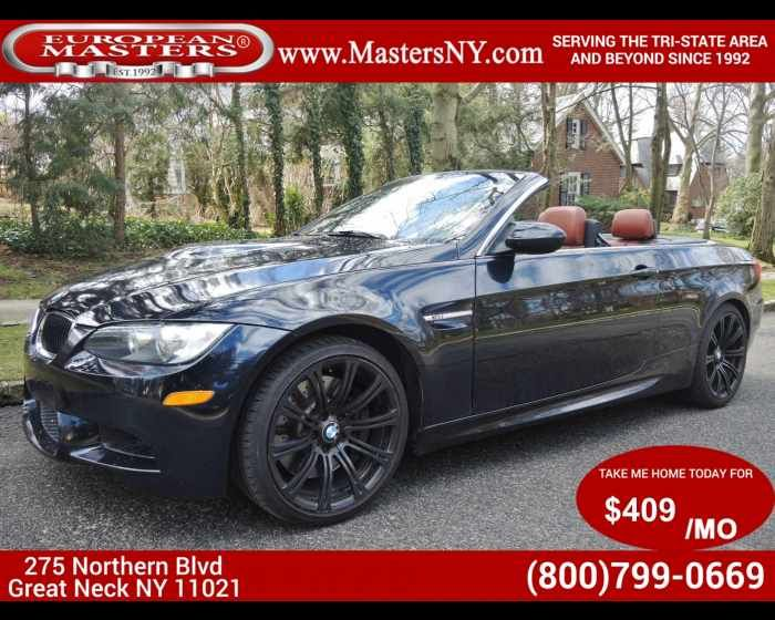 2013 BMW M3 CONVERTIBLE  - $37990,  http://www.theeuropeanmasters.net/bmw-m3-convertible-used-great-neck-ny_vid_6143035_rf_pi.html