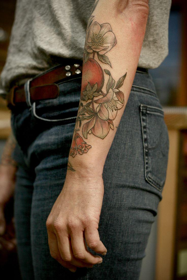 floral tattoo #wonderlandtattoo #ink #tattoo