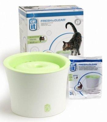Hagen Питьевой фонтанчик для кошек и мелких собак, 3 л