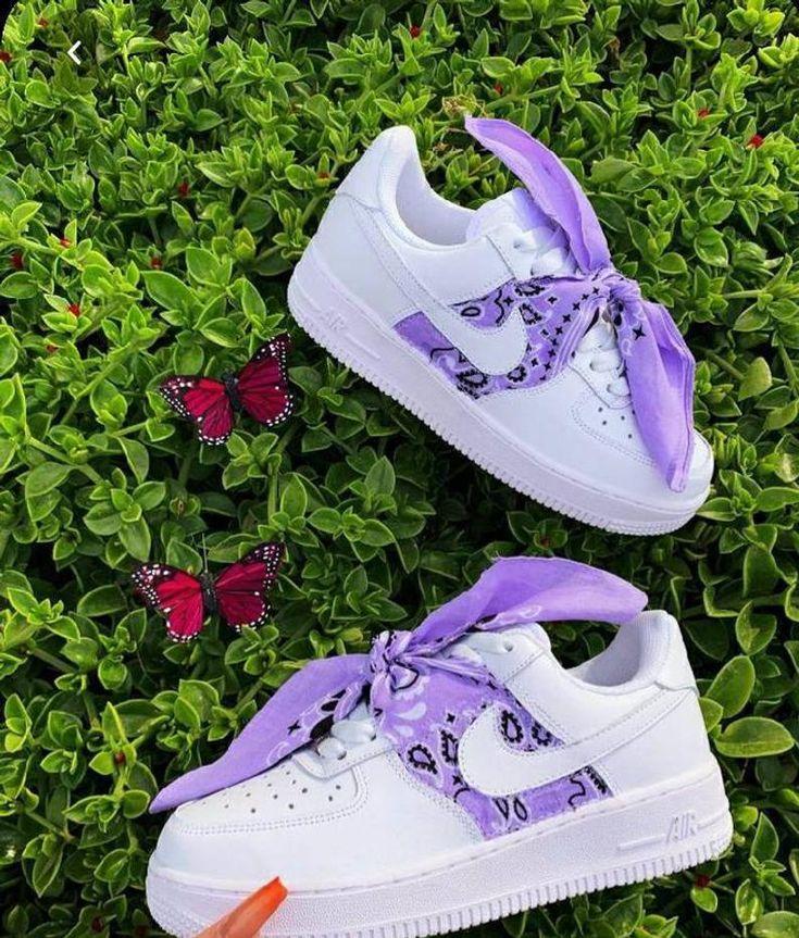 Custom Bandana Baby Nike Air Force 1 Etsy in 2020 Nike