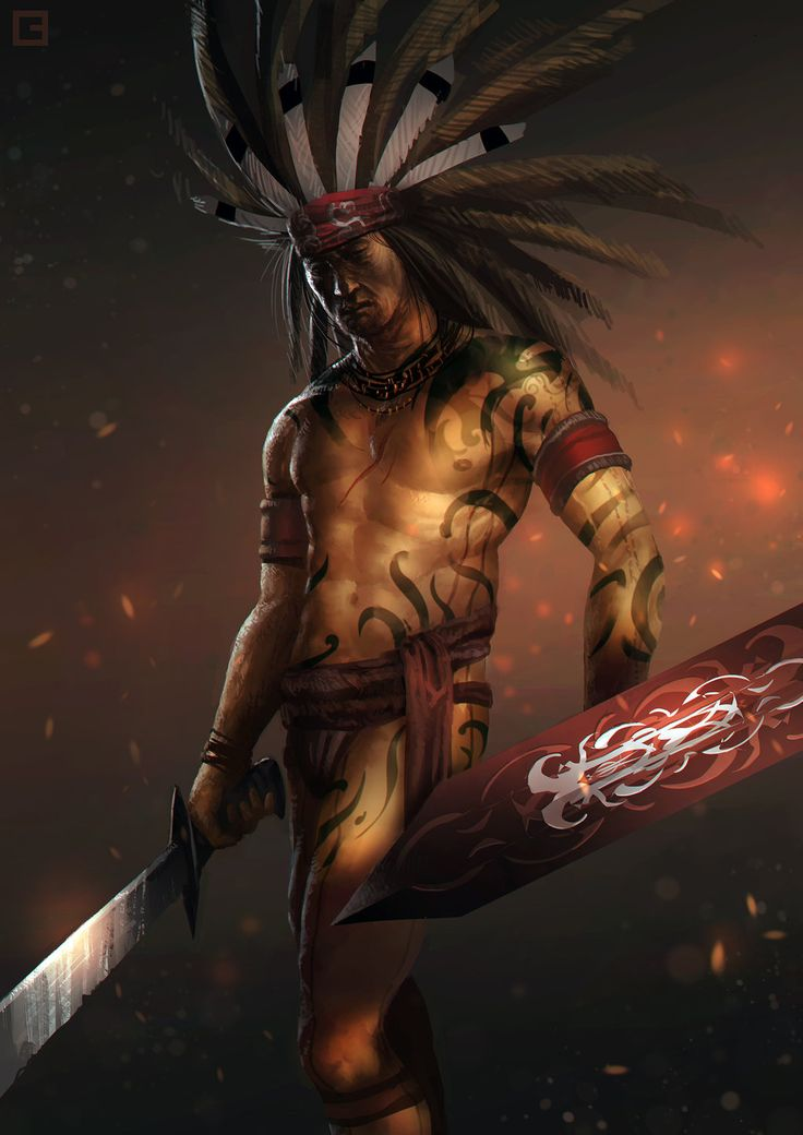 Dayak Warrior by BillCreative.deviantart.com on @deviantART