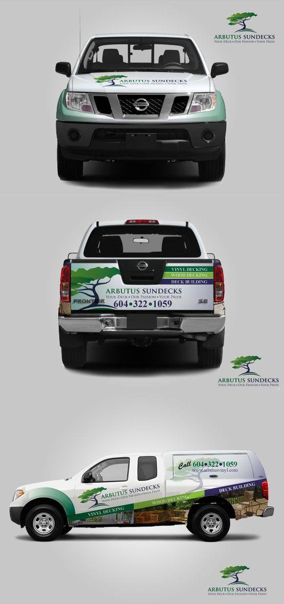 Vehicle wrap for Arbutus Sundecks