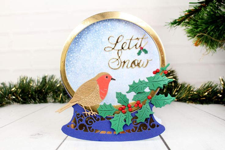 The amazing new Essentials Snowglobe Collection. For more information visit www.tatteredlace.co.uk