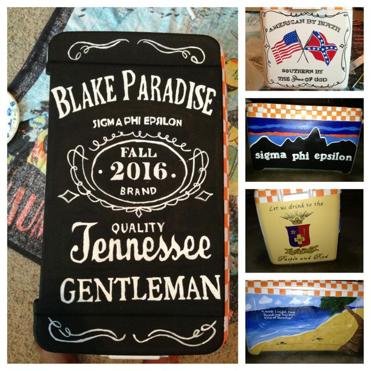 PERFECT Tennessee !fraternity cooler....formal