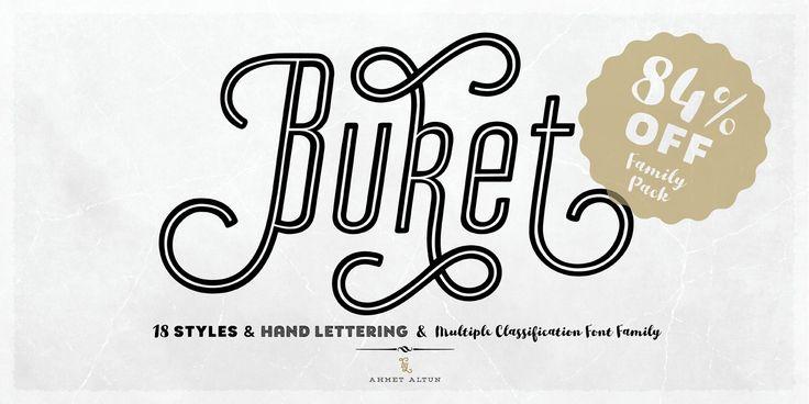 Buket - Webfont & Desktop font « MyFonts