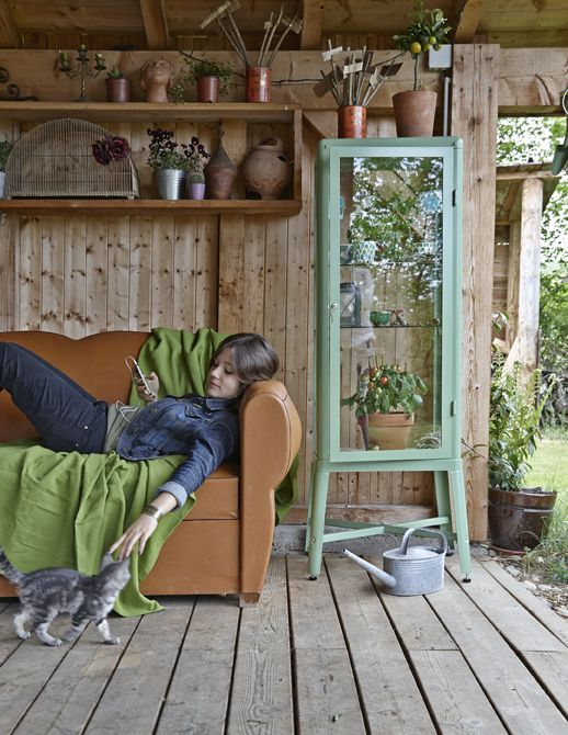 Turn a covered verandah into an outdoor living room, with all the comforts of indoors | #IKEAIDEAS