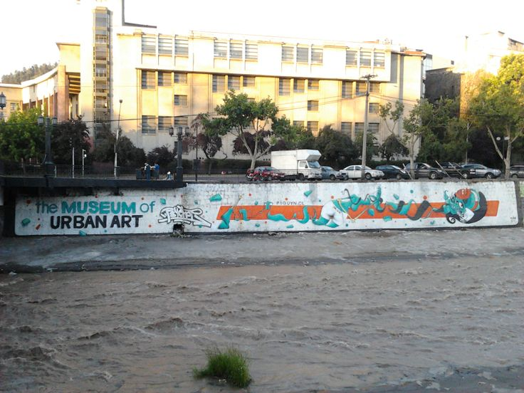 The Museum of Urban Art (Río Mapocho).