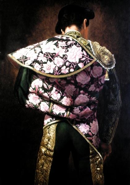 Christian Gaillard, 'Torero' series, Matador in Heliotrope Cape