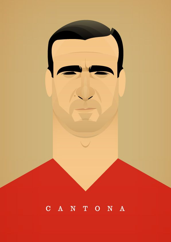 Eric The King Cantona by Stan Chow