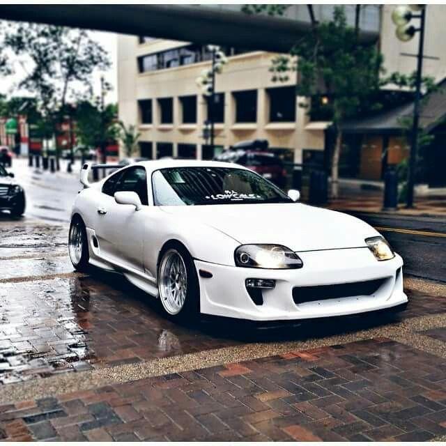White Supra.