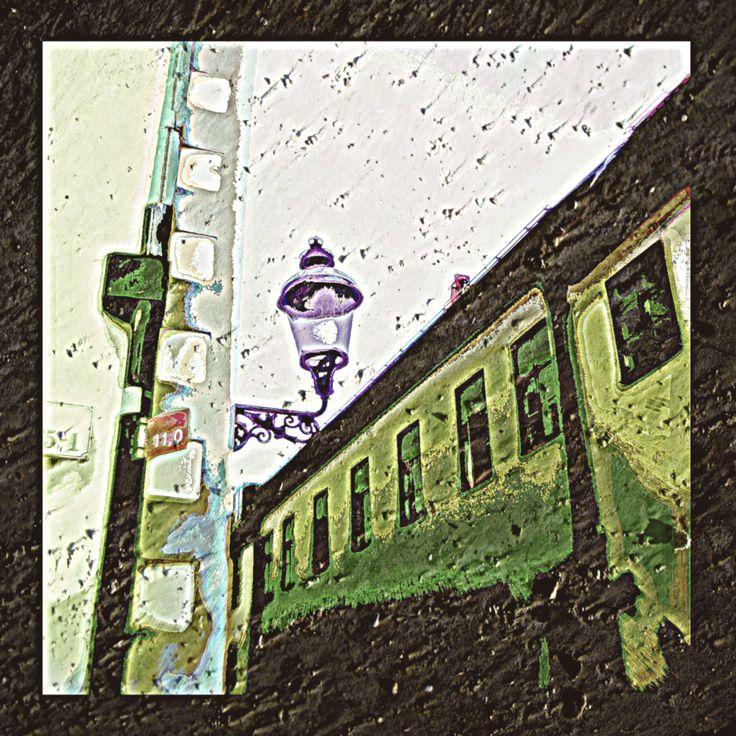 Vintage street Grainy image by MushroomBrain.deviantart.com on @deviantART