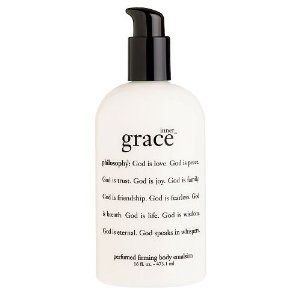 philosophy inner grace perfumed firming body emulsion 16 fl oz (473.1 ml) by Philosophy. $230.00. created with a soft, delicate scent, inner grace is designed to help bring peace and balance to your life. think of inner grace as a mini-meditation, a time to free your mind and reconnect with your spirit. this antioxidant-rich formula uses a unique, synergistic blend of vitamin e and c to provide antioxidant protection. natural oils such as olive and macadamia nut oil he...