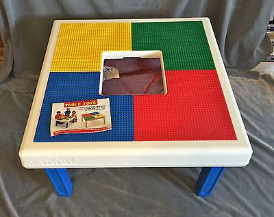 Table Toys Play Table And Storage For Lego Mega Blocks