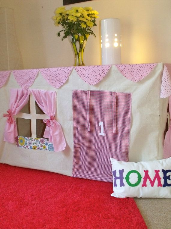 Table Play Tent  Custom made to fit your table by LoveLimeKids, £115.00