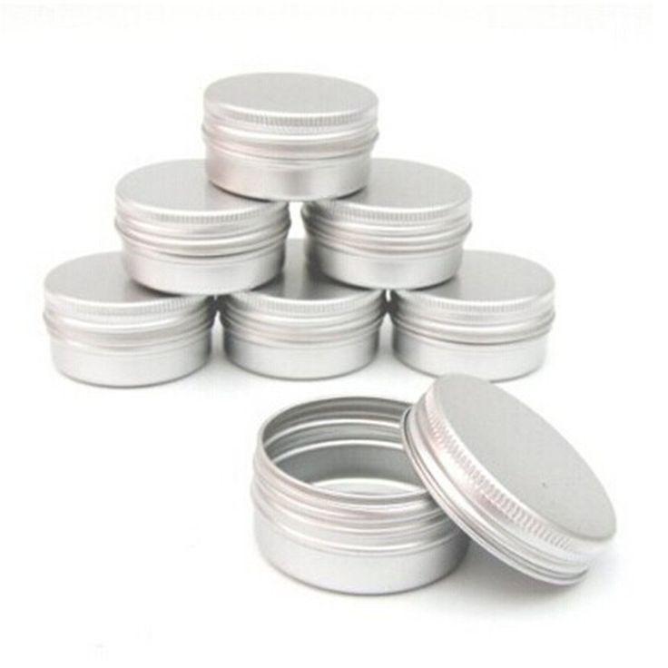 FamilyMall(TM) 10PCS 100ml Aluminium Lip Balm Pots Makeup Cosmetic Cream Jar Pot Bottle Container: Amazon.co.uk: Kitchen & Home