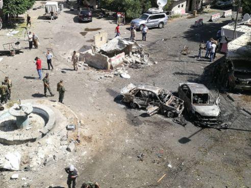 Un atentado en Damasco deja al menos 20 personas muertas