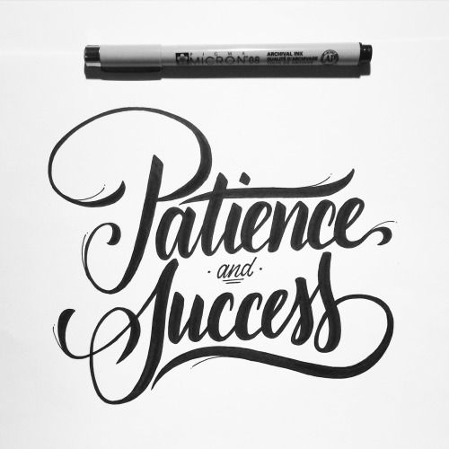 Patience & success. An Instagram giveaway prize.