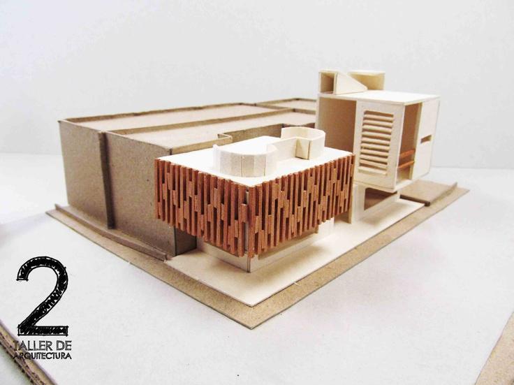 Camilo_León_Tobaria_maqueta_de_proceso_proyectual_ejercicio_academico_facultad_de_arquitectura_Taller_2_Universidad_Piloto_de_Colombia_semestre_II_2012_