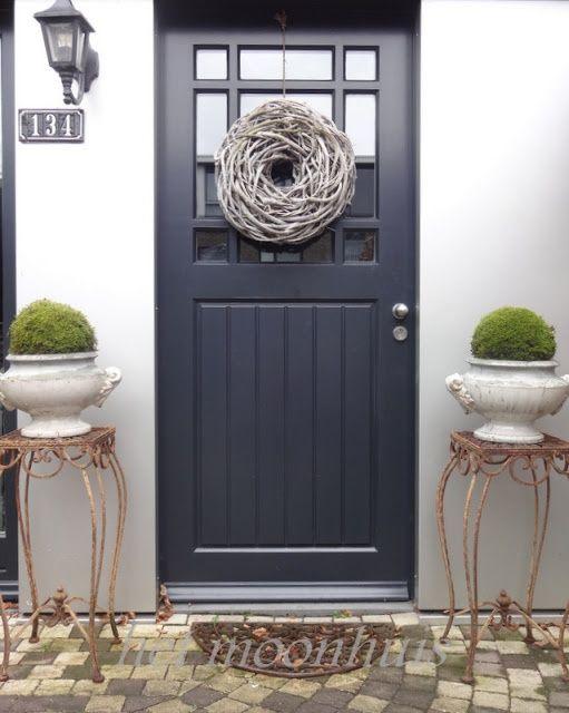Buitenleven | Decoratie voor bij de voordeur, welkom thuis! • Stijlvol Styling - WoonblogStijlvol Styling – Woonblog