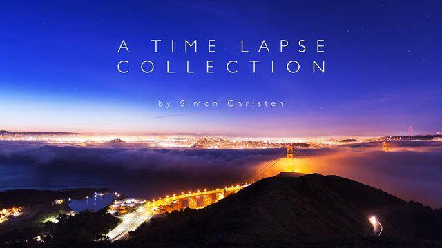 "from Simon Christen on Vimeo:  Over the past few years I've collected a lot of time lapse and loved sharing it with you through my films - ""The Unseen Sea"" and ""Adrift.""  ""A Time Lapse Collection"" is a medley of some of my favorite shots that didn't make their way into either film. All of the footage was gathered on countless excursions into the Marin Headlands, the Berkeley Hills and a more recent trip to Dubai."