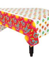 Fiesta Caliente Plastic Table Cover 54in x 102in-Tableware Themes-Fiesta Theme Party-Theme Parties-Party City