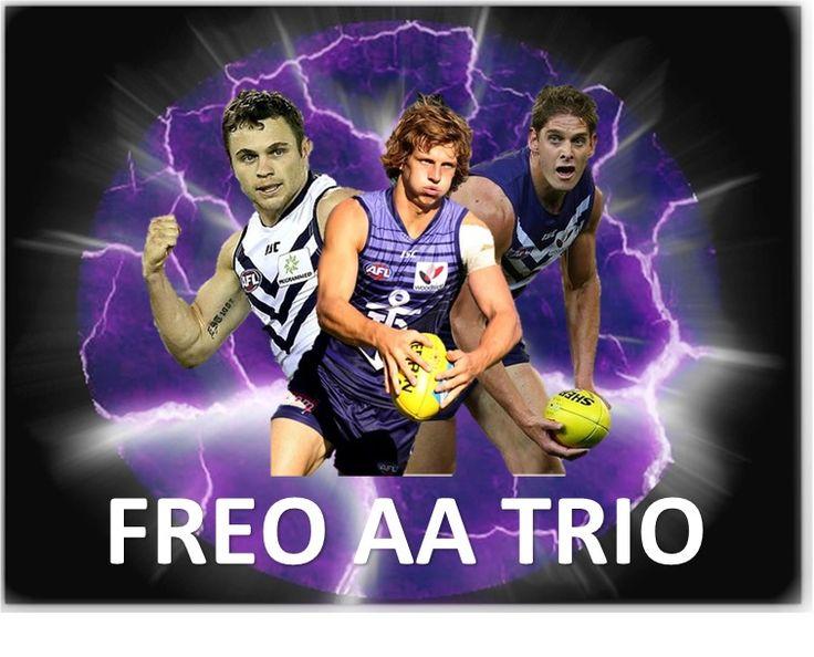 Freo Trio make 2014 All Australian Team
