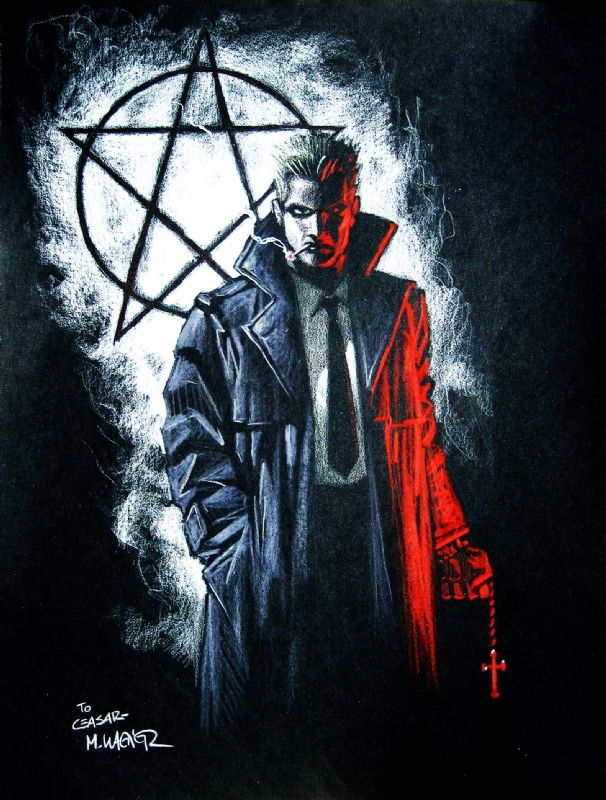 John Constantine (Hellblazer): Constantine is a magician but rarely uses magical spells. Constantine faces most of his challenges relying primarily on his cunning, quick-thinking , vast knowledge of the occult, manipulation of opponents and allies, and an extensive list of contacts.  He is considered by many as being the world's greatest con man. Constantine is also one of a few people knowing all the routes to Heaven, Hell, and the afterlife, which he uses to escape and teleport.