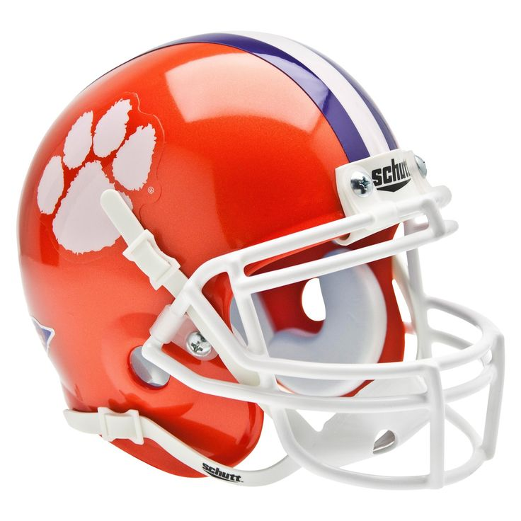 Clemson Tigers Schutt Mini Helmet Mini football helmet