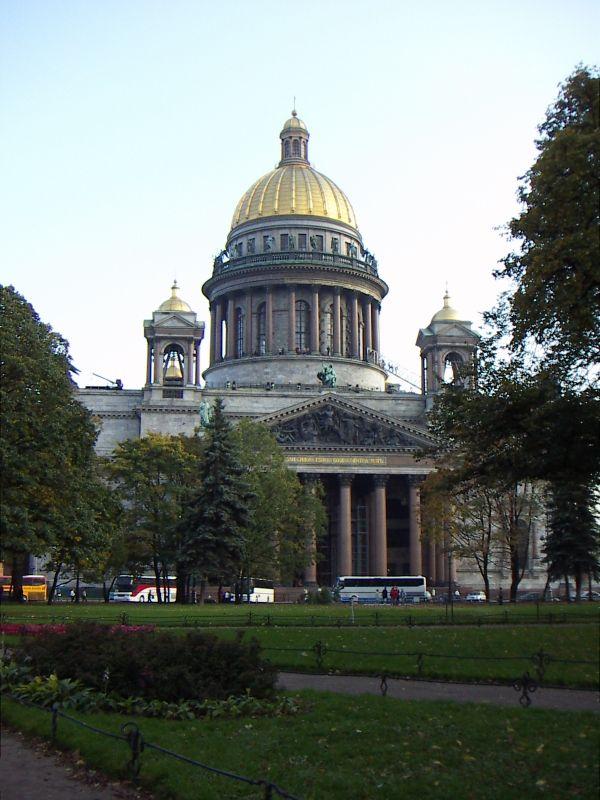 ロシア 観光地情報   地球の歩き方 イサク聖堂