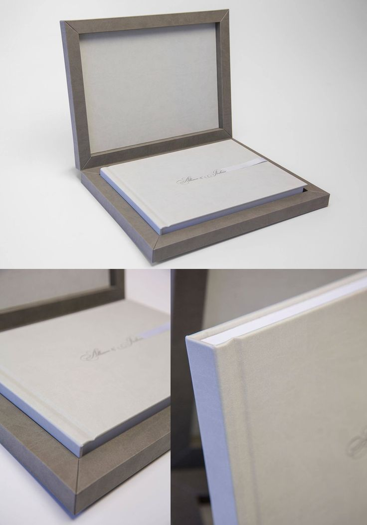 Youngbook in #gray tones of Cloud Material. #graphistudio #youngbook #weddingbook