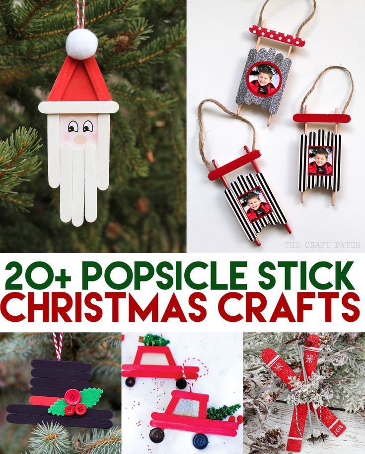 Popsicle Stick Christmas Crafts The Craft Patch Popsicle Stick Christmas Crafts Christmas Crafts To Make Christmas Crafts