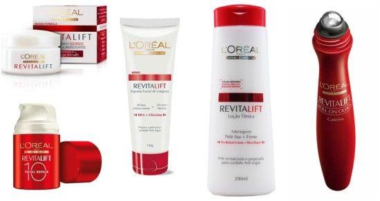 top 10 marcas de cosmeticos l oreal linha revitalift