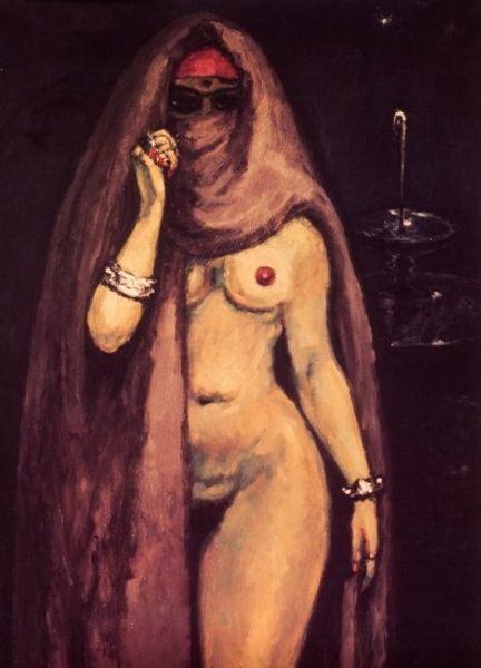 """Kees van Dongen    Dutch      1877 - 1968    """"Moorish Dancing Girl"""""""
