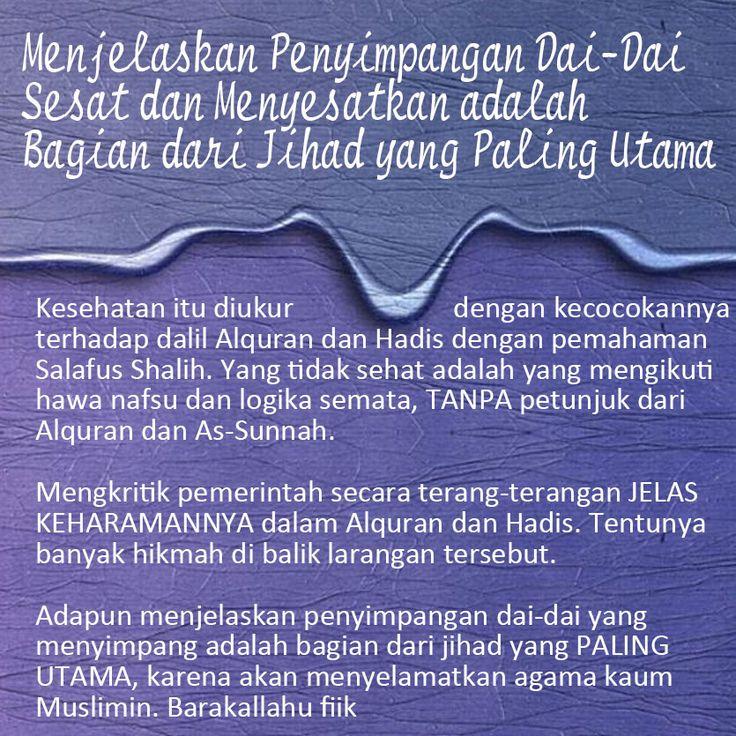 Follow @NasihatSahabatCom http://nasihatsahabat.com #nasihatsahabat #mutiarasunnah #motivasiIslami #petuahulama #hadist #hadis #nasihatulama #fatwaulama #akhlak #akhlaq #sunnah  #aqidah #akidah #salafiyah #Muslimah #adabIslami #DakwahSalaf # #ManhajSalaf #Alhaq #Kajiansalaf  #dakwahsunnah #Islam #ahlussunnah  #sunnah #tauhid #dakwahtauhid #Alquran #kajiansunnah #salafy #demonstrasi #demo #bidah #menjelaskanpenyimpangandaiustadz  #sesat, #jihadpalingutama #Khawarij #Khowarij #dalil ,  #UAS…