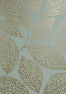 Pebble Leaf Verdigris - MISP1038 - Miss Print - Midbec - Tapeter-tyger.se
