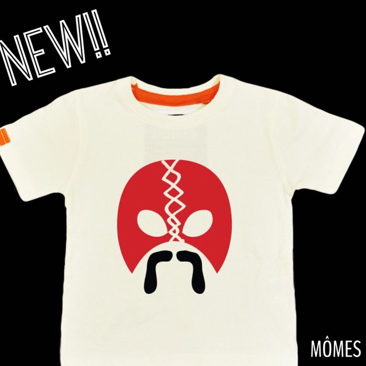 "NEW! NEW! NEW! Let us introduce you to our brand new design ""Rey"" The wrestler! Hope you like it as much as we loved deigning it!!✌️ #Hipsterwrestler Rey available in long & short sleeves as well as baby onesies!! YESSSSSS he's available right now at www.momes-store.com ✌️ #MÔMES#organic#madetoorder#newdesign#wrestler#moustache"