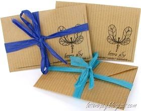 Mini envelopes with printable pattern!