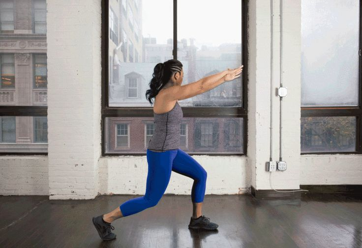 4. Lunge Chop #bodyweight #workout #tabata http://greatist.com/fitness/best-tabata-moves -- great list of .gifs of interesting whole-body dynamic exercises, lots of explosive ones