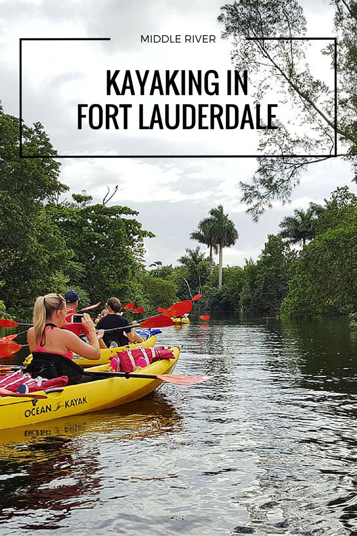 Fort Lauderdale Kayaking Tour with Atlantic Coast Kayak