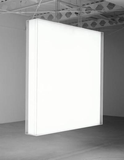 Mary Corse  Untitled, 1967, lightbox