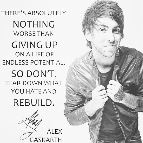 All Time Low Alex Gaskarth Bands!!! Pinterest